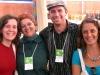 Roberta, Bernadete, Renato e Katia
