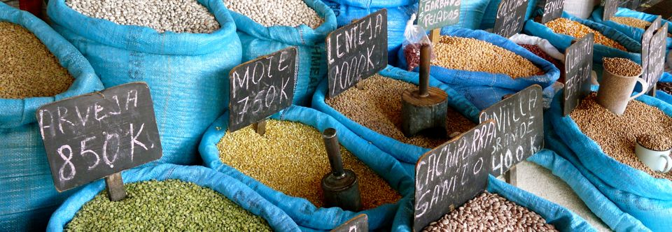 Mercado em Chillan – Chile