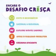 Oxfam lança desafio Cresça e convite por mudanças alimentares