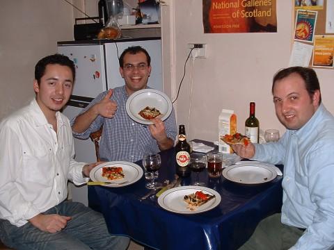 Jorge, Sena e Rui