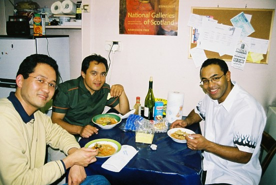 Julio, Valdir e Fred