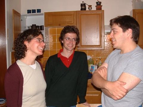 Rita, Martim e Marcos